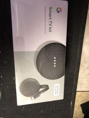 Google chromecast smart tv kit for Sale in Irving, TX