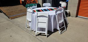 Carpa/canopy_ResinChairs_Linen for Sale in Chino Hills, CA