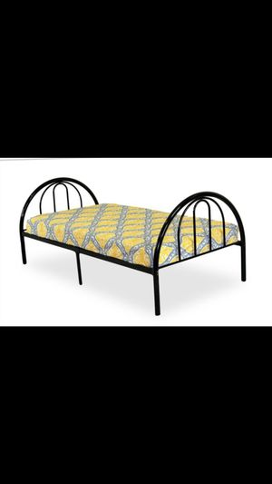 TWIN SIZE Rack Furniture Brooklyn Classic Metal Bed for Sale in Munster, IN