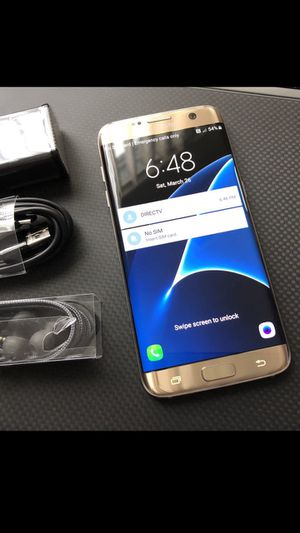 Samsung Galaxy s7 edge :Excellent Condition ,Factory Unlocked ,clean IMEI. for Sale in Springfield, VA