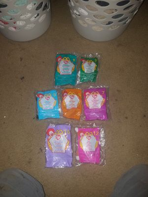 Beanie Baby lot from 1993!! 7 out of 12 Ty teenie original Beanie Baby!! for Sale in Parma, OH