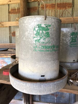 Old style chicken feeder for Sale in Spring Hope, NC