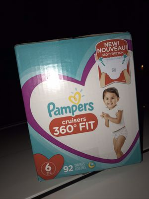 Pampers Size 6 for Sale in Moreno Valley, CA