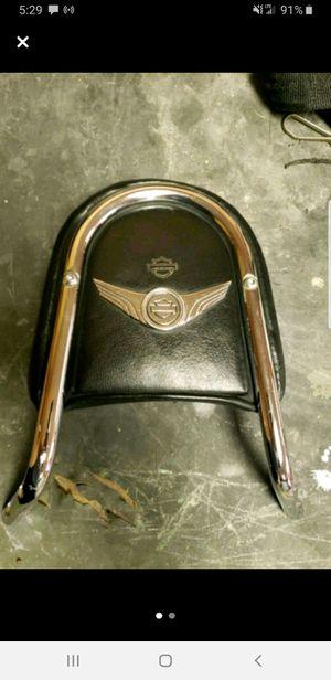 Harley Davidson V-Rod passenger back rest and windshield for Sale in Evansville, IN