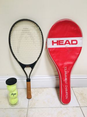 Head tennis racket with cover . for Sale in Fremont, CA