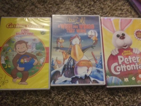 Children's DVDs ( unopened)