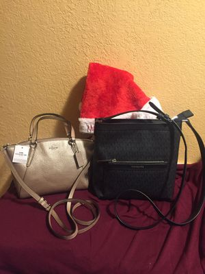 Coach and Michael kors crossbody purses $95 each for Sale in Reedley, CA
