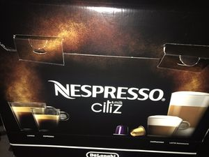 New Nespresso coffee maker (can bid) for Sale in Washington, DC