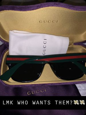 Gucci sunglasses for men (brand new) 280 obo for Sale in Antioch, CA