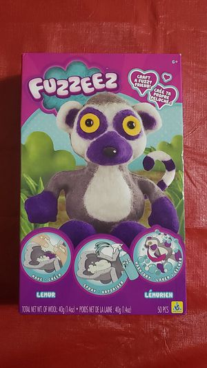 Orb Factory Fuzzeez Lemur Craft A Fuzzy Friend! 6+ for Sale in Seattle, WA