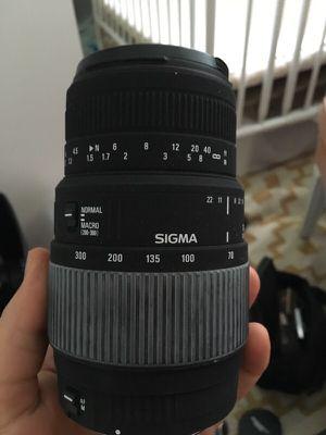 Sigma lens for Canon for Sale in Orlando, FL