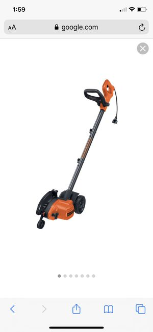 BLACK+DECKER LE750 12 Amp 2-in-1 Landscape Edger and - $80 for Sale in Pearland, TX