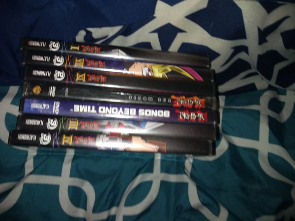Yu-Gi-Oh DVDs