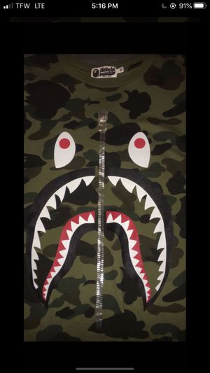 Bape camo shirt for Sale in Snohomish, WA