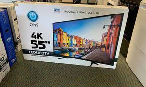 "NEW ONN 4K 55"" LED UHDTV HH0EC for Sale in Cedar Park, TX"