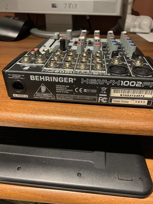 BEHRINGER XENYX 1002 FX for Sale in Chicago, IL