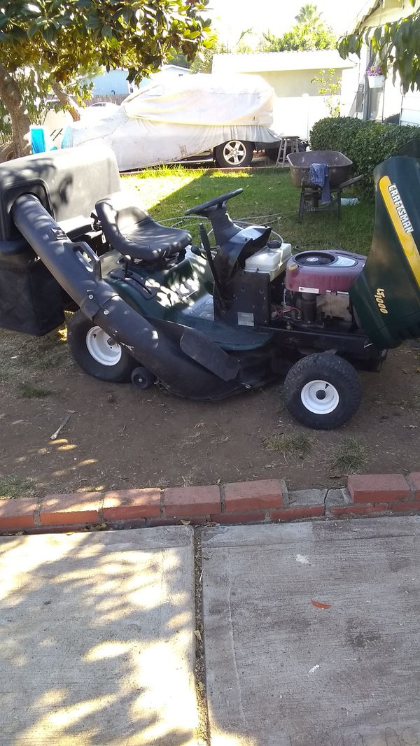 Tractor Lawnmower Craftsman For Sale In Spring Valley Ca