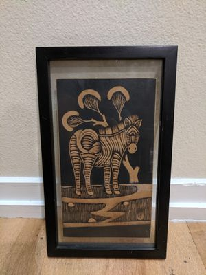 Zebra Wood Art for Sale in Los Angeles, CA
