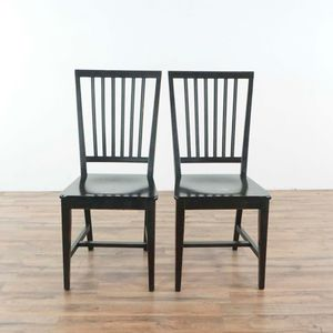 Pair of Buying & Design Wooden Dining Chairs (1034623) for Sale in South San Francisco, CA