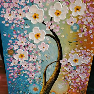 """Acrylic Painting Wall Decor 23""""*48"""" for Sale in Chicago, IL"""