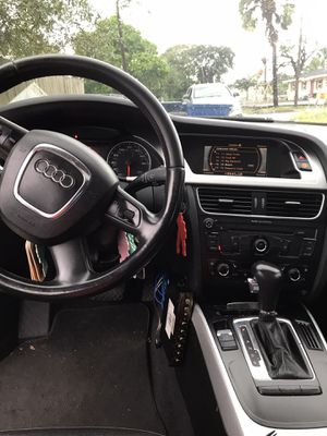 Audi A4 turbo 2009 everything works on the car for Sale in Tampa, FL