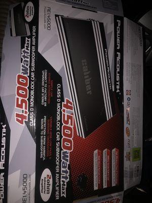 4,500 W amplifier base for Sale in Los Angeles, CA
