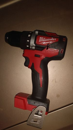Milwaukee brushless 1/2 inch drill and driver for Sale in Sioux Falls, SD
