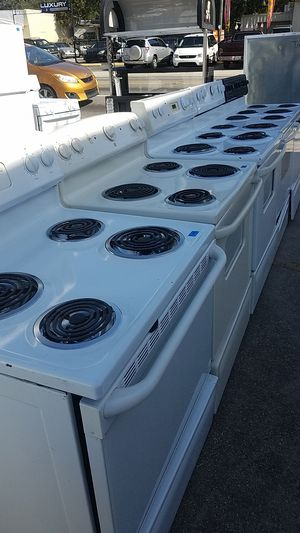GE Hotpoint Whirlpool Roper coil stoves blowout sale for Sale in Tampa, FL