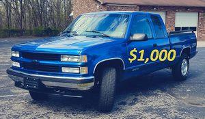 1997 Chevrolet C/K Pickup 1500 Silverado Z71 for Sale in Garrison, MD