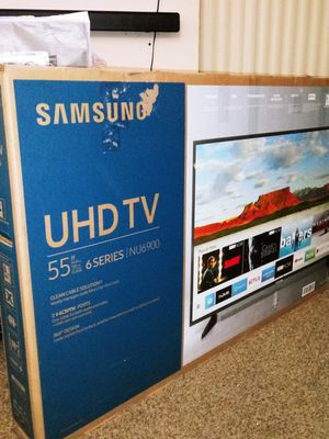 SAMSUNG 55IN SMART TV / 4KHDR / 6 SERIES / 2019 for Sale in Grand Prairie, TX