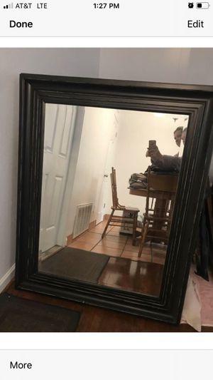 Black mirror in good condition for Sale in Modesto, CA