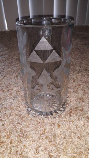 Zelda glass beer mug for Sale in Wilsonville, OR