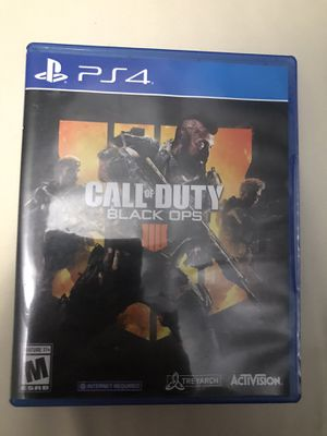 Call of duty black ops 4 for Sale in Gilbert, AZ