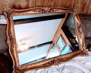 45 by 30 Antique wall hanging mirror for Sale in Fort Worth, TX