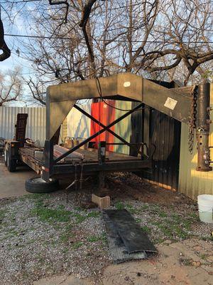 2008 goose neck trailer for Sale in Oklahoma City, OK