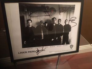 Linkin park autographed picture for Sale in Mission Viejo, CA