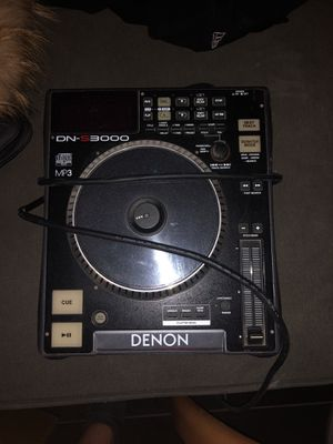 Denon turntable s3000 Dj equipment for Sale in Bensenville, IL