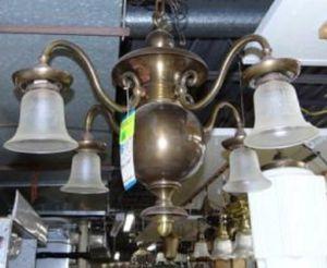 Brass Chandelier for Sale in Boston, MA