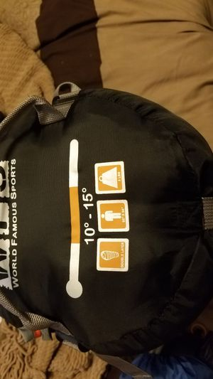 Sleeping bag and bivvy tent for Sale in National City, CA