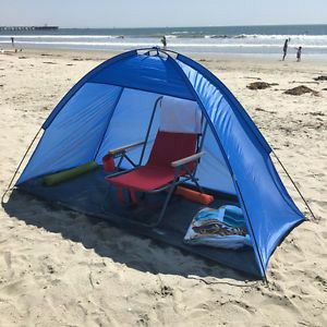 Brand new in box Large 7x3 feet Beach Tent Sun Shade Camping Park Shelter Umbrella with Carrying Bag for Sale in Whittier, CA