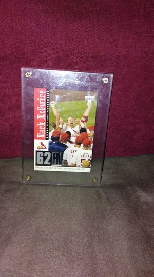 Mark McGwire (Baseball Card) 1998 for Sale in Austin, TX