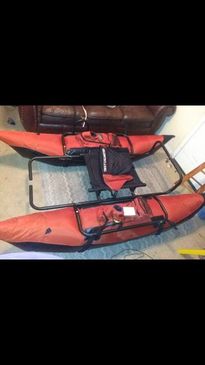 !!!!One man pontoon boat!!!! Make offer!!!! for Sale in Conroe, TX