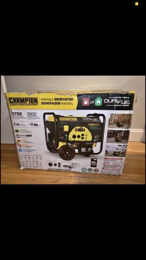 Champion Portable Generator for Sale in Stoneham, MA