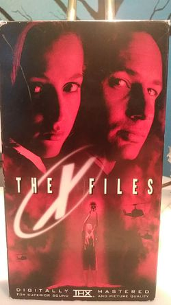 The X-Files VHS tape for Sale in Tracy,  CA