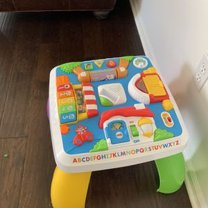 Activity Center And Cart for Sale in Sterling Heights, MI