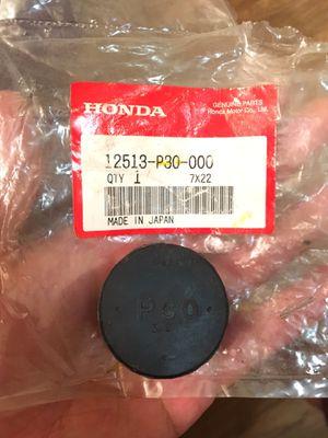 Honda cam seal plug for Sale in Riverside, CA