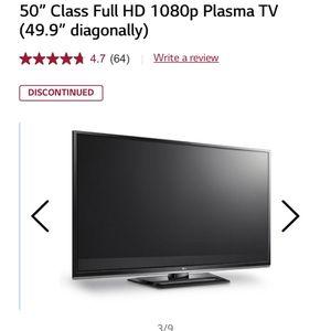LG 50 Inch Plasma TV for Sale in Tustin, CA