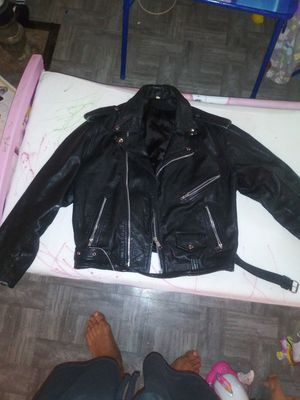 Real Leather jacket men for Sale in Washington, DC