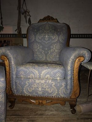 Antique chair and ottoman. for Sale in Philadelphia, PA