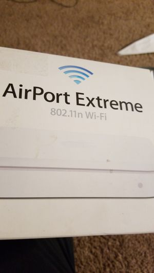 Apple airport extreme router for Sale in Durham, NC
